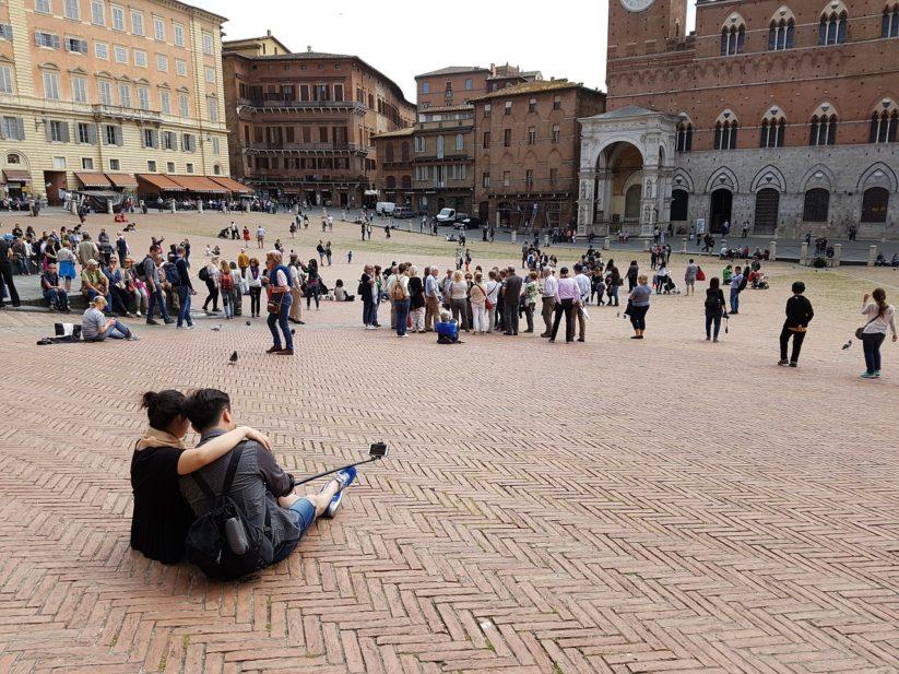 Piazza del Campo Siena (Foto www.pixabay.com)