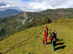 Frauen in Chitre, Dhawalagiri (Westliche Region), Nepal. (c) Tine Rossing, Vancouver/Kanada