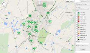 Obststadt Wr. Neustadt: Fruitmap