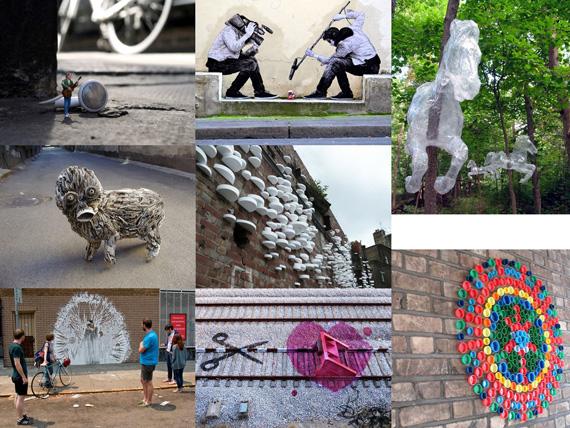 Beispiele Street Art