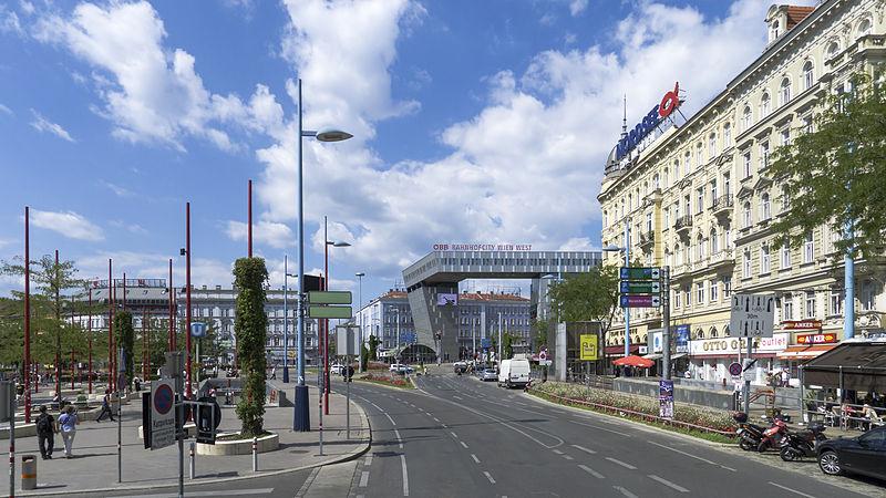 Platzgestaltung Christian-Broda-Platz in Wien Mariahilf