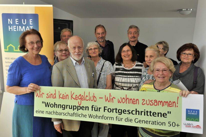 Senioren Wohngemeinschaft - Projekt Wohngruppen für Fortgeschrittene