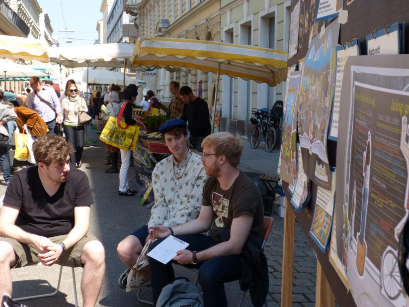 Partizipation im Grätzel - Workshop in der Josefstadt