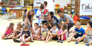 Kinderbetreuung in Gemeinden