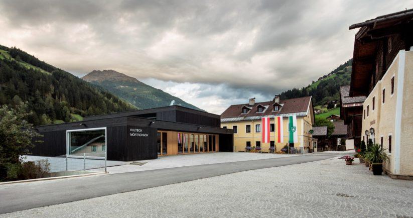 Kulturhaus Mörtschach, LP architektur (Foto Albrecht Imanuel Schnabel)