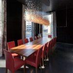 Neu gestalteter Raum von Peter Zumthor, KUB Café-Restaurant, 2013 Foto: Markus Tretter © Kunsthaus Bregenz