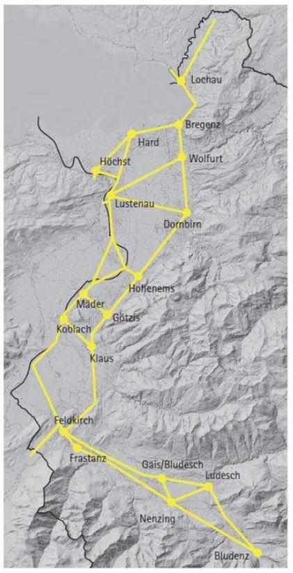 Planung Radverkehr in Vorarlberg