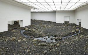Olafur Eliasson: Riverbed. Louisiana Museum, Humlebæk/DK. Foto: Anders Sune Berg