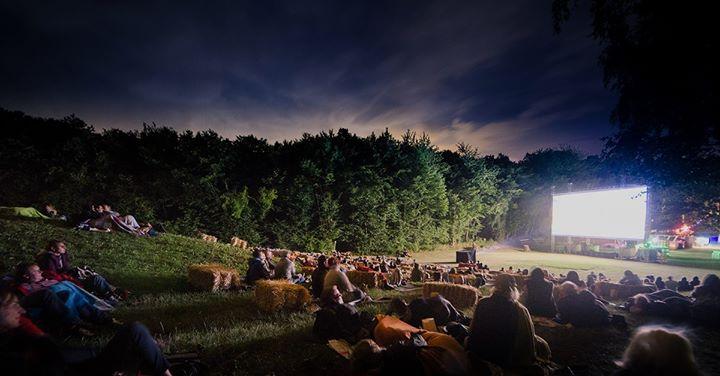 Das Sommerkino in Mannersdorf findet auf der Schiwiese mitten im Wald statt.