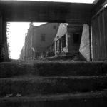 Chi-hsin Yang: Straßenszene in Tainan, 1951. Estate Yang Chi-hsin, Taiwan. Mit freundlicher Genehmigung von Yang Wen-hwa.
