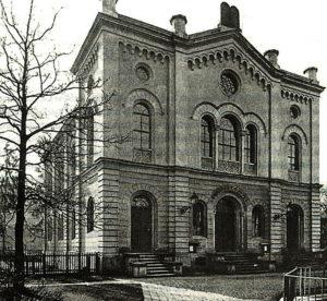 Alte Synagoge von Linz vor dem Brand 1938. Foto: Landesarchiv Oberösterreich