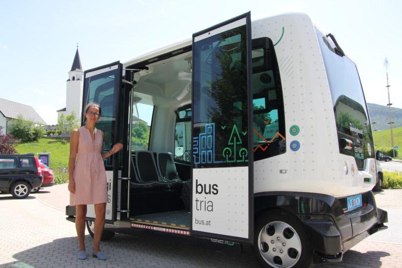 Innovative Verkehrskonzepte: Autonom fahrende Busse im Nahverkehr