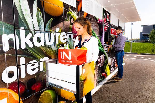 Abholboxen an Bahnhöfen verringernd die Zustellproblematik von Onlineshops