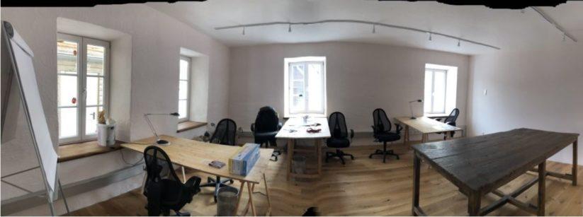 Neues Gemeinschaftsbüro im Cafe Taugerei