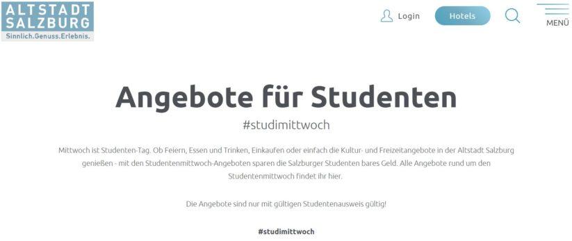 Buyer Persona zur Entwicklung von Angeboten für Studenten in Salzburg