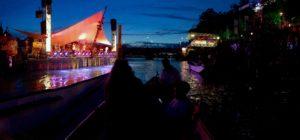 Flüsse als Kulturort: Festival im Fluss, Basel. Foto: Claus Friede