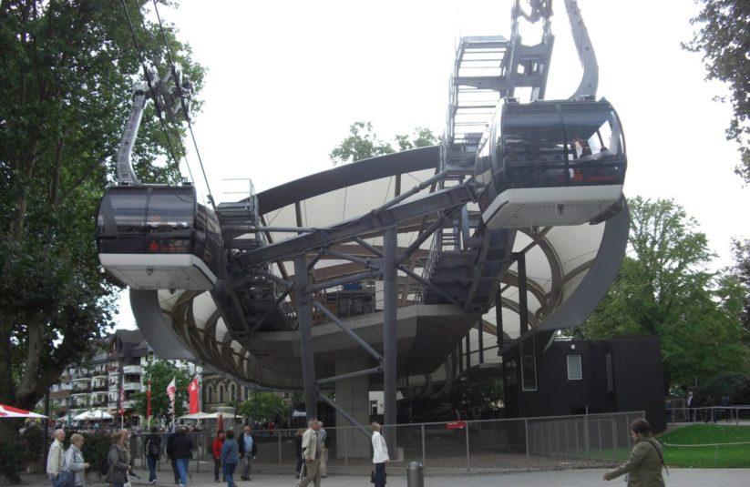 Die Stadtseilbahn in Koblenz ist bereits seit mehreren Jahren sehr erfolgreich in Betrieb.