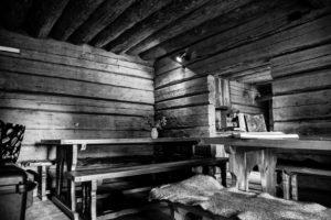 Tiny Living: Reduzierte Inneneinrichtung in einem Tiny House. Foto: Kerttu, Helsinki