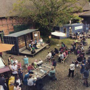 Tiny Living Festival 2019 in Prießeck (Wendland). Foto: Tiny Living Festival