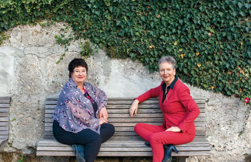 Wohnen im Alter: Im Bild die Beraterinnen und Autorinnen Sonja Schiff und Ursula Spannberger (c) Renata Eisen-Schatz