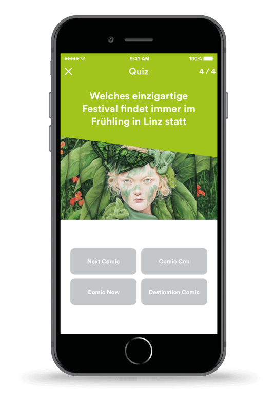 Mobiles Stadtmarketing mit der Visit Linz App