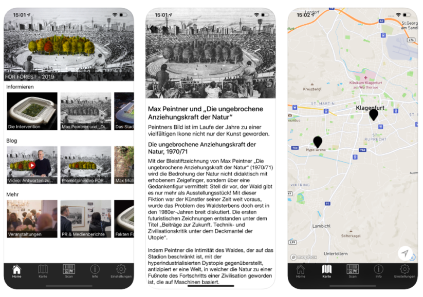 Mobiles Stadtmarketing: Steuerung von Events mit Smartphone-Apps