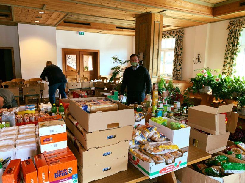 Das gemeinnützige Projekt Rollende Speisekammer fungiert als Nahversorger für in Not geratene Menschen.