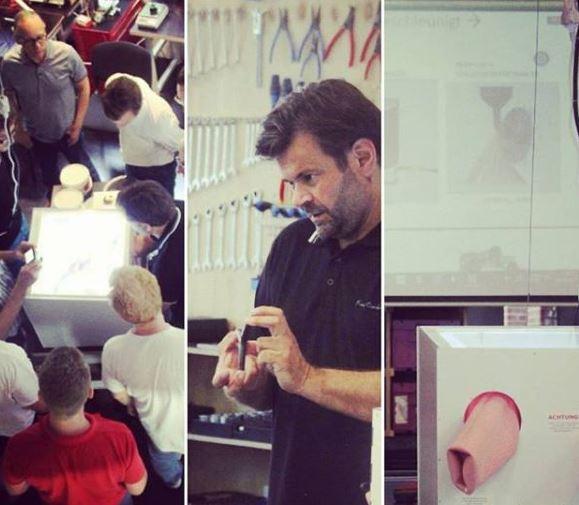 Workshop im Makerspace zur Förderung des Knowhow Transfers