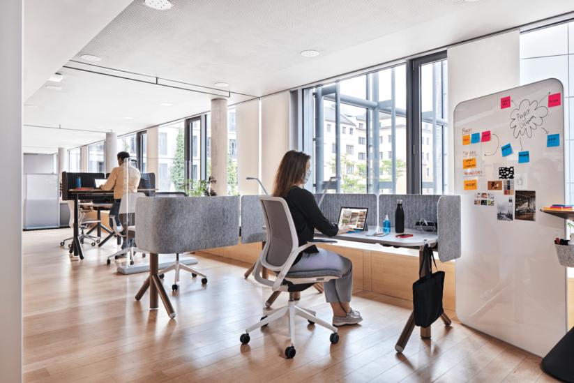 Neue Bürokonzepte: Flexible Büroelemente für das Büro der Zukunft