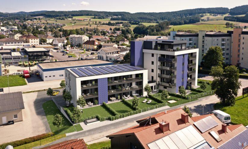 Neue Wohnprojekte wie in Freiburg zeigen, wie Wohnanlagen energieautark funktionieren.