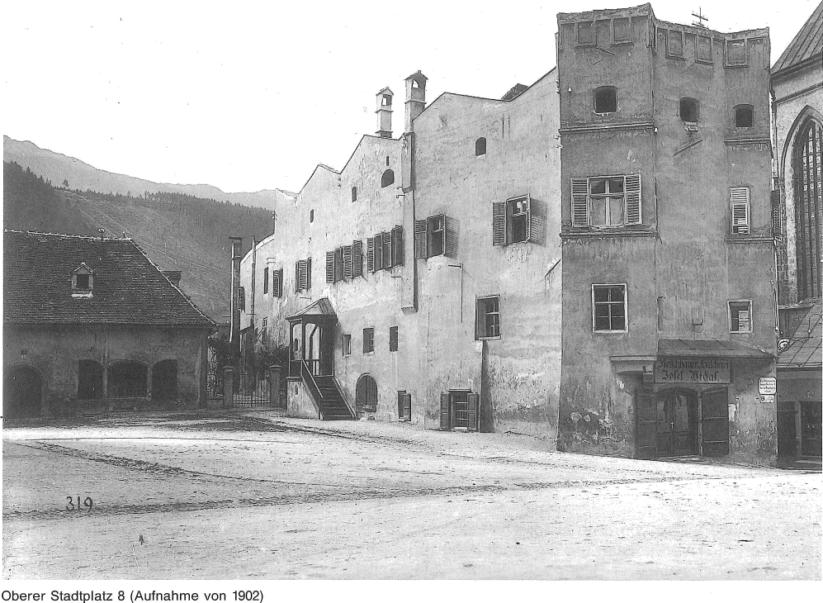 Das Stubenhaus in Hall in Tirol